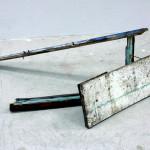 """""""Горизонт"""" - найденные объекты, цветной карандаш, 2009"""